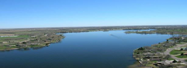 Aerial Shot of the Lake