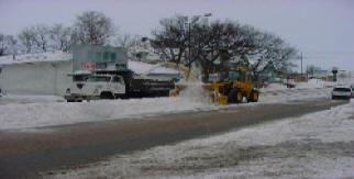 Clearing Snow From the Road