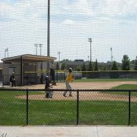 Playing Baseball at the Cadwell Sports Complex